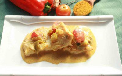 Tilápia ao molho curry