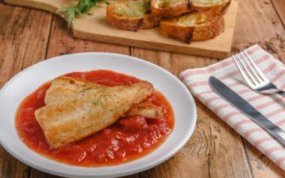 Tilápia ao Molho de Tomate